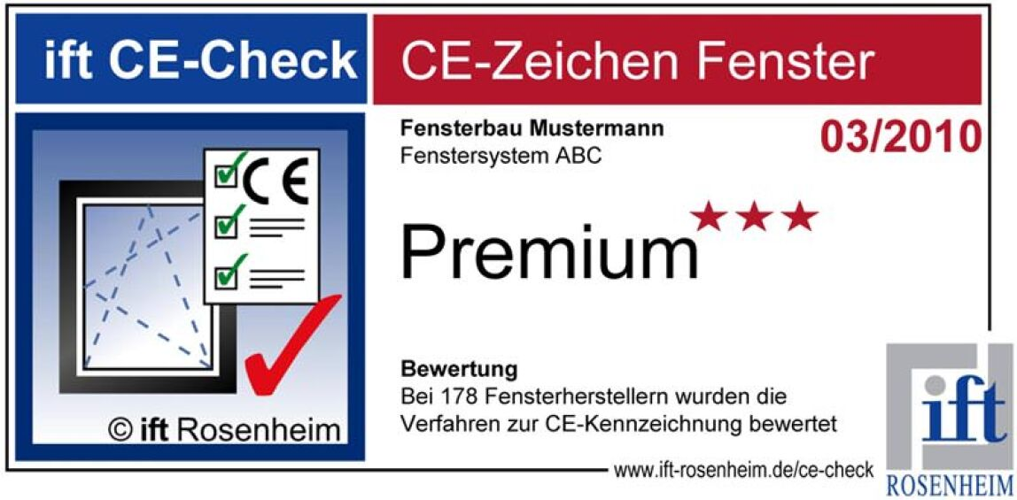ift CE-Check-Label