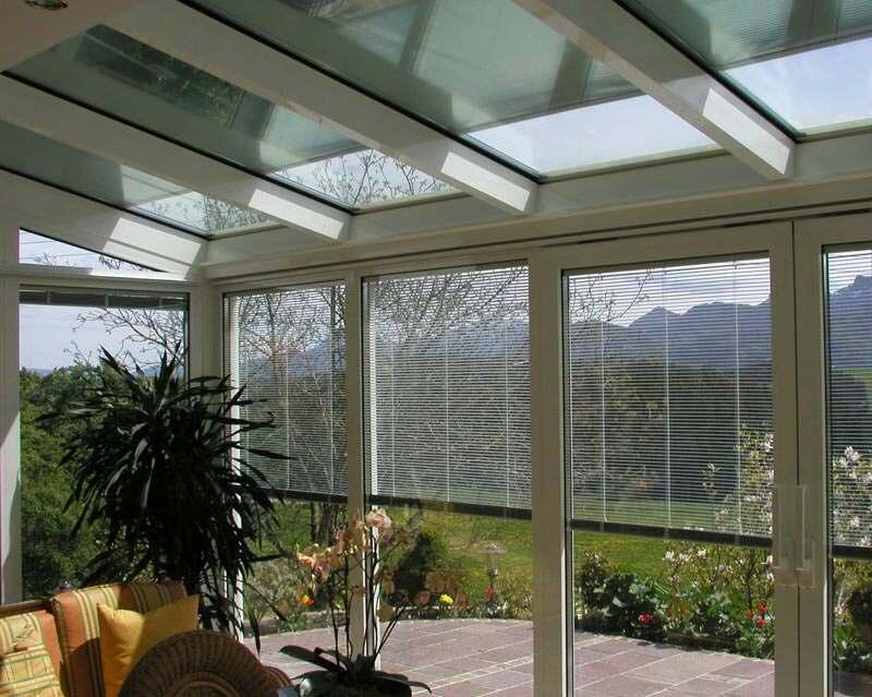 Sonnen- und Sichtschutz im Scheibenzwischenraum