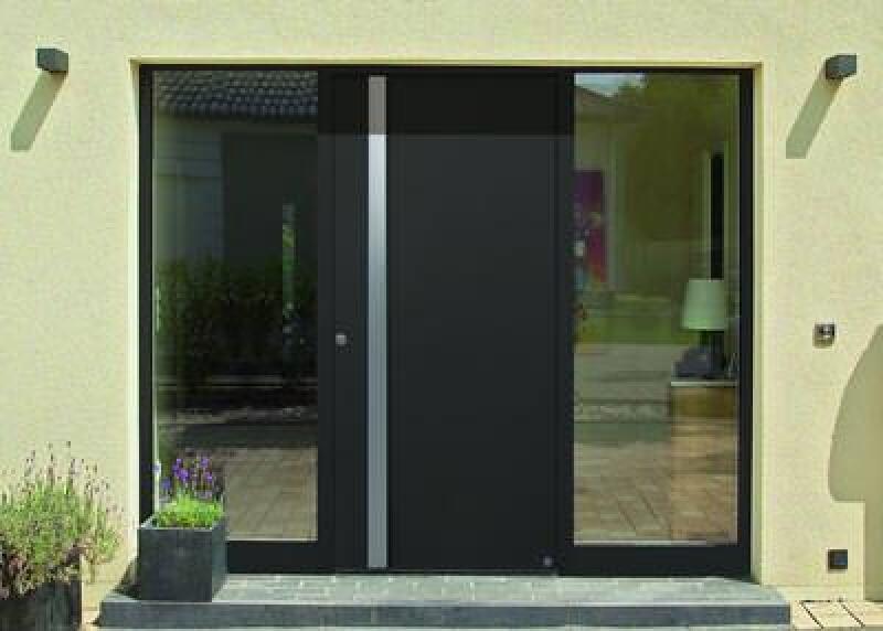 Aluminium haustüren  Neue Design-Griffe für Aluminium-Haustüren