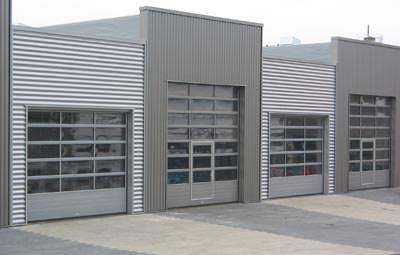 Industrietor, verglaste Tore, U-Wert, Verglasung