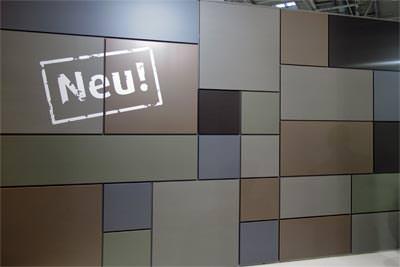 VMZ Mosaik: Kassettensystem zu Fassadengestaltung von Vorhangfassaden