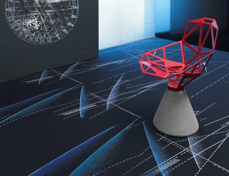 Vorwerk Teppich legt ObjektKollektion Projection neu auf