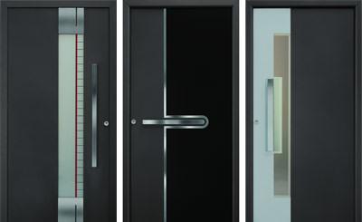 zweifarbige haust rmotive f r aluminium haust ren von h rmann. Black Bedroom Furniture Sets. Home Design Ideas