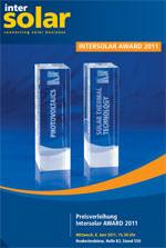 <Intersolar Award 2011