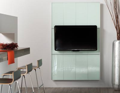 cinewall objekt professionelle tv wand f r den objektbereich flachbildschirm. Black Bedroom Furniture Sets. Home Design Ideas
