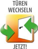Kampagne-Logo 'Türen wechseln jetzt!'
