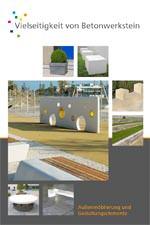 Broschüre: Außenmöblierung / Public Design mit Betonwerkstein