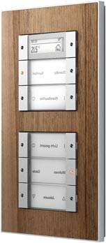 Lichtschalter mit Echtholzfurnier, Schalterrahmen aus Holz
