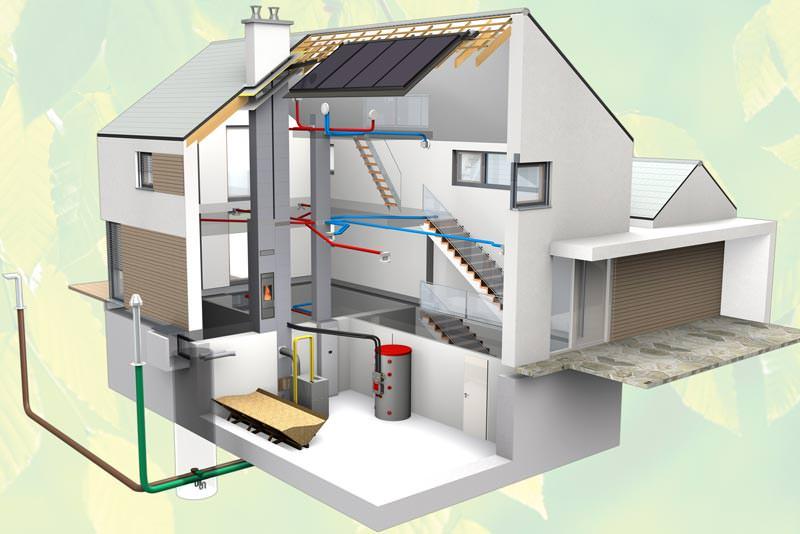 aera eqonic neues l ftungskonzept mit energiespareffekt von schiedel l ftungs schornstein. Black Bedroom Furniture Sets. Home Design Ideas