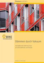 """Cover: BINE-Themeninfo """"Dämmen durch Vakuum"""" (I/2011)"""