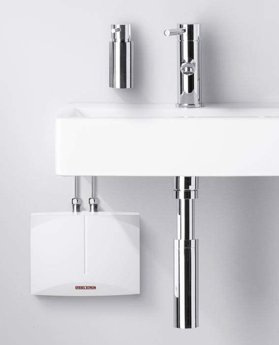 dezentrale warmwasserversorgung mit durchlauferhitzer oder kleinspeicher. Black Bedroom Furniture Sets. Home Design Ideas