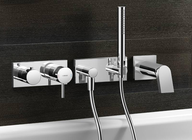 hansamatrix gibt armaturen richtung und freiheit mit wandarmaturen unterputzarmaturen. Black Bedroom Furniture Sets. Home Design Ideas
