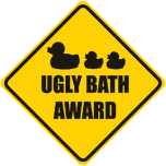ugly bath - Logo