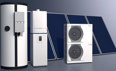 Schücos solargeführtes Heizsystem für Ein- und Mehrfamilienhäuser