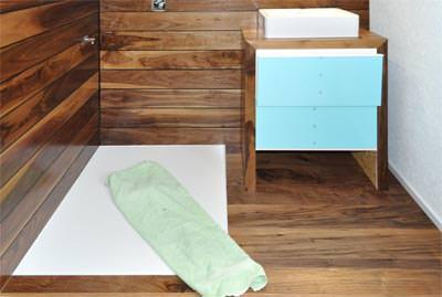 Holzfußboden Im Badezimmer, wohlfühlzentrum bad  mit naturgeölten holzböden, Design ideen