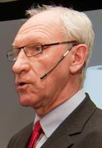 Dr. Werner Fischer, Direktor Forschung und Entwicklung beim Schweizer Bad- und Sanitärkeramikspezialisten Laufen
