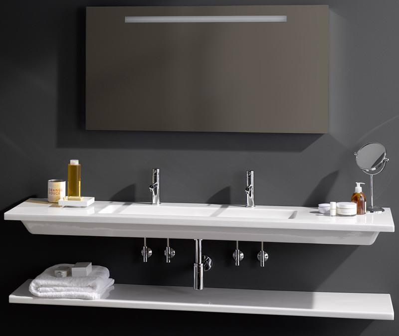 filigrane laufen waschtische nicht nur f r hotels hotelwaschtisch als einzelwaschtisch und. Black Bedroom Furniture Sets. Home Design Ideas
