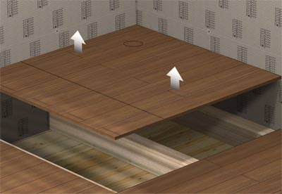 mehr bodengleiche duschtassen f r holzb den bzw holzdecken. Black Bedroom Furniture Sets. Home Design Ideas