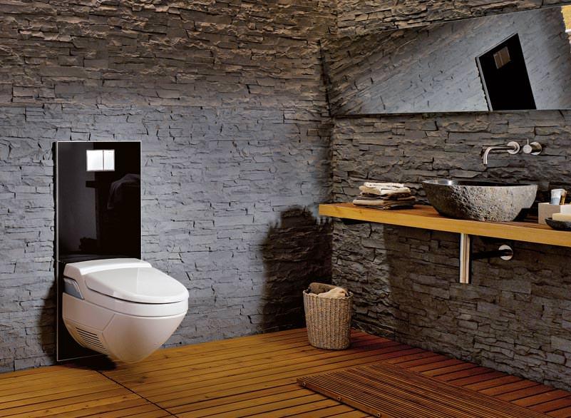 aquaclean designplatte aus glas kaschiert dusch wc. Black Bedroom Furniture Sets. Home Design Ideas