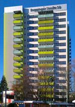 weltweit erstes Passiv-Hochhaus in Freiburg-Weingarten