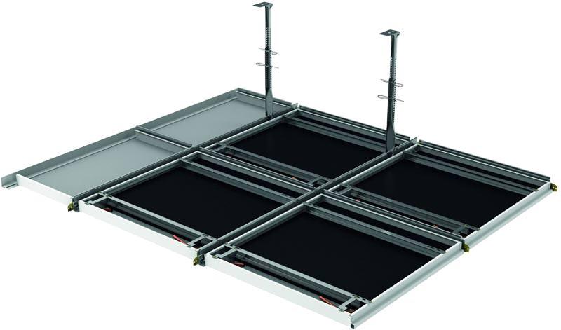 neues zehnder heiz und k hldecken komplettsystem bandrasterdecke und rasterdecke. Black Bedroom Furniture Sets. Home Design Ideas