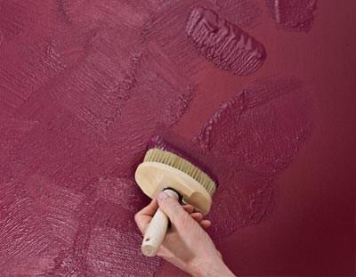 Trendprodukt von Brillux für metallische Wandgestaltungen ...