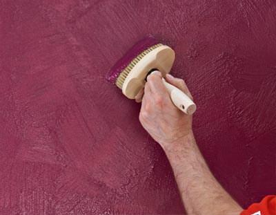 trendprodukt von brillux f r metallische wandgestaltungen glamour f r innenw nde mit. Black Bedroom Furniture Sets. Home Design Ideas