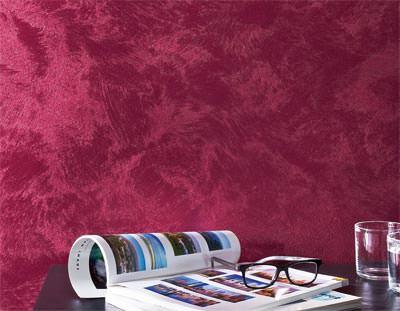 Trendprodukt von brillux f r metallische wandgestaltungen - Metallic farbe wand ...