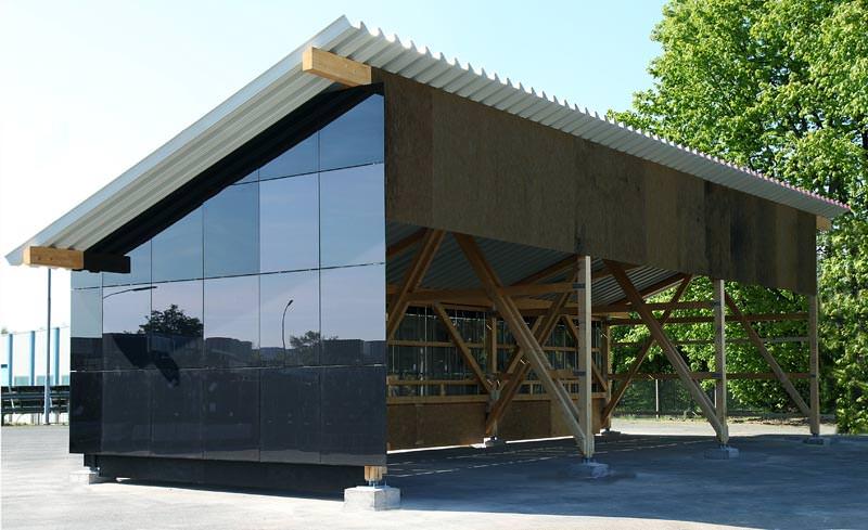 gehrlicher solar vertreibt energie erzeugende pv halle fertighalle mit solardach und. Black Bedroom Furniture Sets. Home Design Ideas
