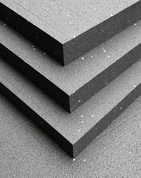 dunkel ist w rmer flachdachd mmung 031 aus eps silver rohstoff uni roof flachdachd mmplatten. Black Bedroom Furniture Sets. Home Design Ideas