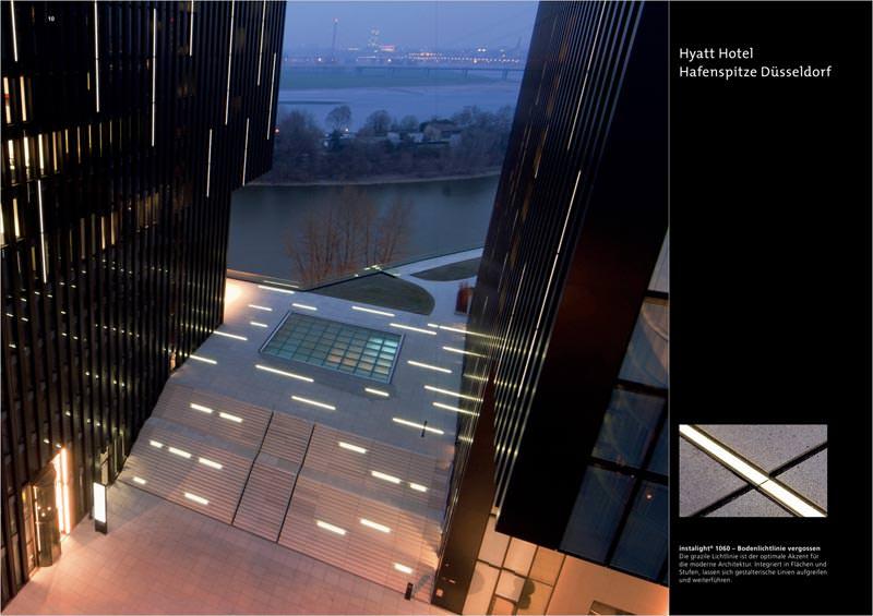 led beleuchtung f r wege pl tze und landschaften auf 24 seiten mit architekturlicht. Black Bedroom Furniture Sets. Home Design Ideas