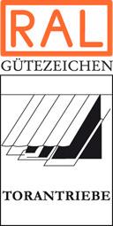 RAL Gütezeichen Torantriebe für Dreh- und Schiebetore erweitert