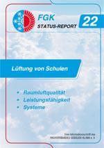 """FGK- STATUS-REPORT 22: """"Lüftung von Schulen"""""""
