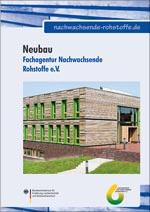 FNR-Broschüre über das eigene nachhaltige Bürogebäude