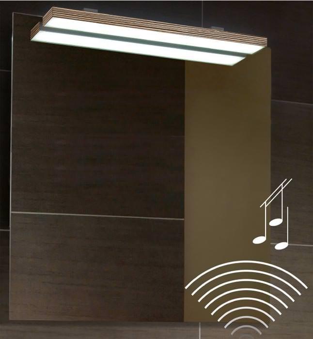 Sound: Wenn der Badezimmerspiegel zum Bluetooth-Sound-System wird ...