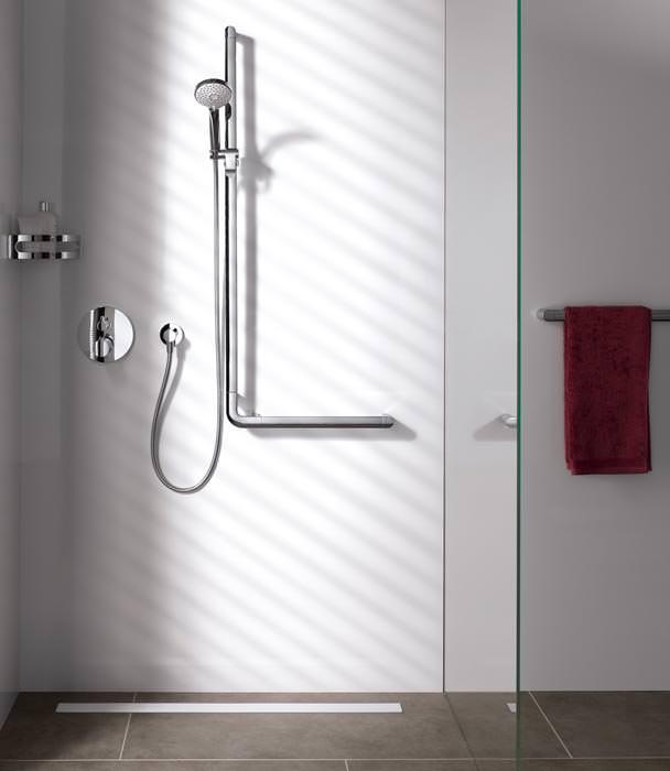 relingsystem von keuco f r komfort und sicherheit in dusche und wc haltegriffe und. Black Bedroom Furniture Sets. Home Design Ideas