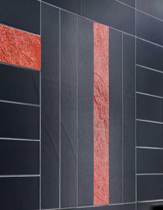 Wax fliesen wie unbearbeiteter beton mit farbigen - Bodenfliesen schachbrettmuster ...