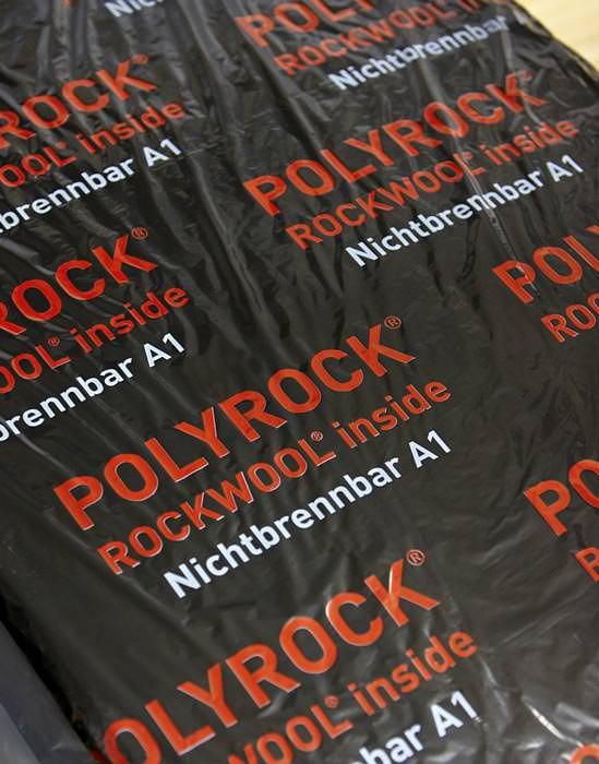 neuer a1 klassifizierter schallabsorber f r abgeh ngte deckensysteme mit luftf hrung polyrock. Black Bedroom Furniture Sets. Home Design Ideas