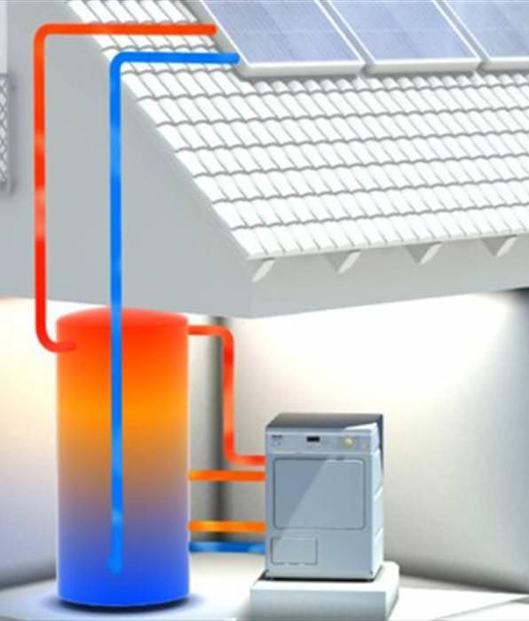 kooperation miele solvis solarheizsystem versorgt w schetrockner. Black Bedroom Furniture Sets. Home Design Ideas