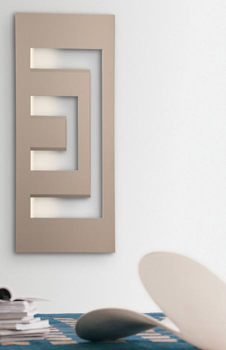 dedalo und tratto: neue italienische designheizkörper von bemm, Hause ideen