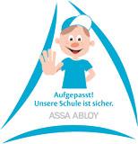 Logo: Aufgepasst! Unsere Schule ist sicher
