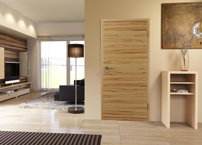 furnier macht zimmert ren zu unikaten statt wei e kunststoffdekor oberfl chen mit ebenso. Black Bedroom Furniture Sets. Home Design Ideas