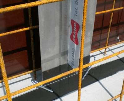 Fradiflex Sollrissfuge im Ortbetonbau