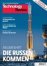 Titelbild: Technology Review aus dem Heise-Verlag in der November-Ausgabe