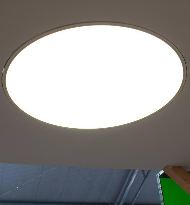 Licht statt Leuchten: anschlussfertige Großflächenleuchten für den ...
