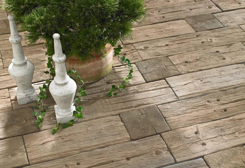 Holz oder stein kann erweitert bradstone logsleeper system for Terrassengestaltung holz