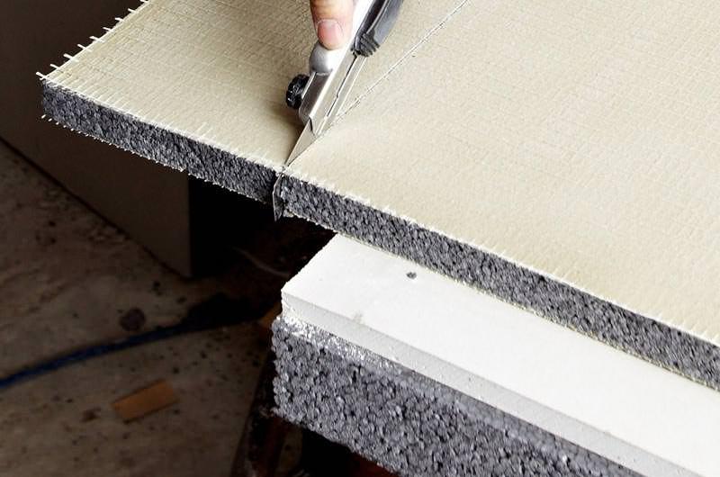 thermoplatte und thermoprofil erg nzen rigips. Black Bedroom Furniture Sets. Home Design Ideas