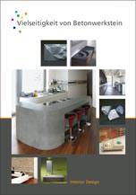 Vielseitigkeit von Betonwerkstein- Interior Design