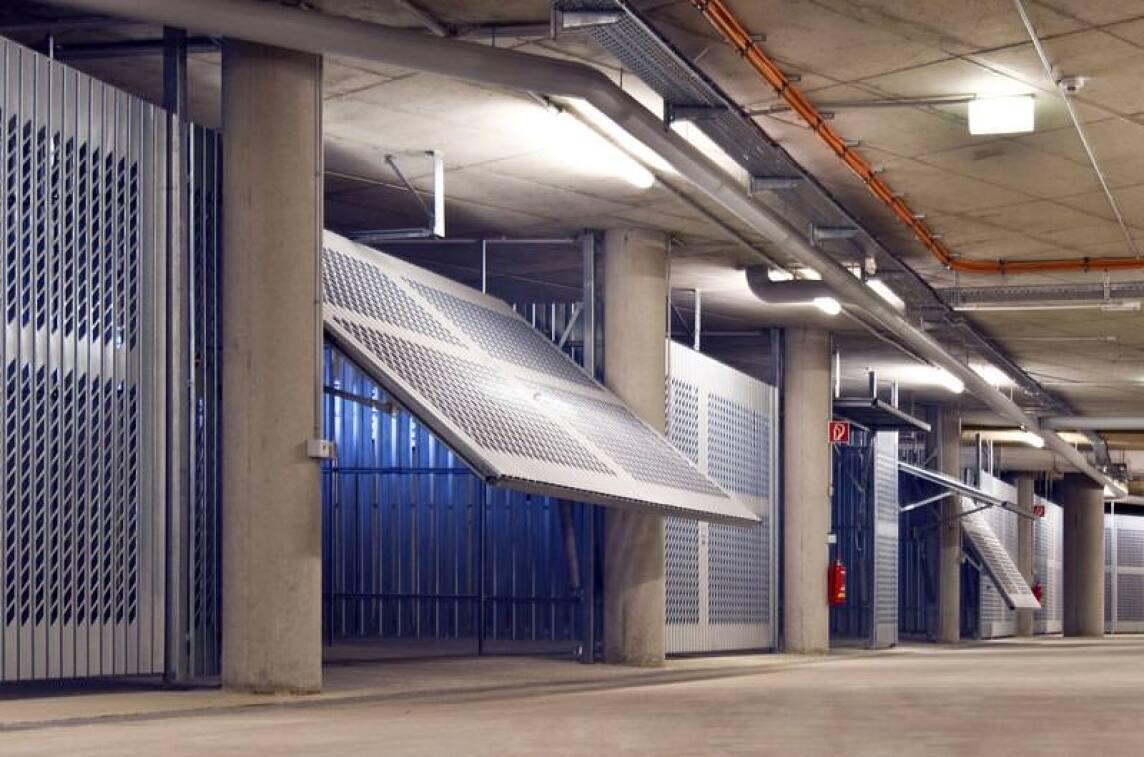 Parkboxen  für Tiefgaragen