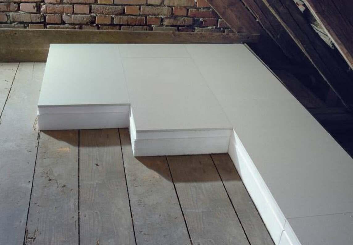 Bevorzugt Neues Verbund-Dachbodendämmelement von Knauf   aus 12,5 mm CA47